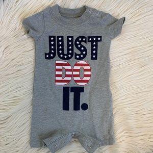 Nike Newborn Shortall Romper